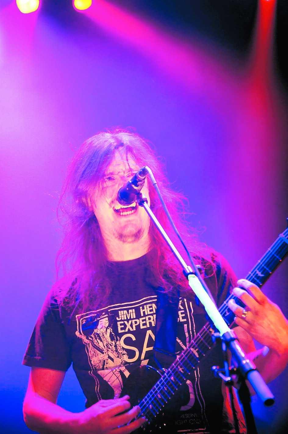 PREMIÄRNERVIGA Mikael Åkerfeldt och hans Opeth fortsätter sitt 20-årsfirande på Sweden rock festival i Blekinge den 12 juni.
