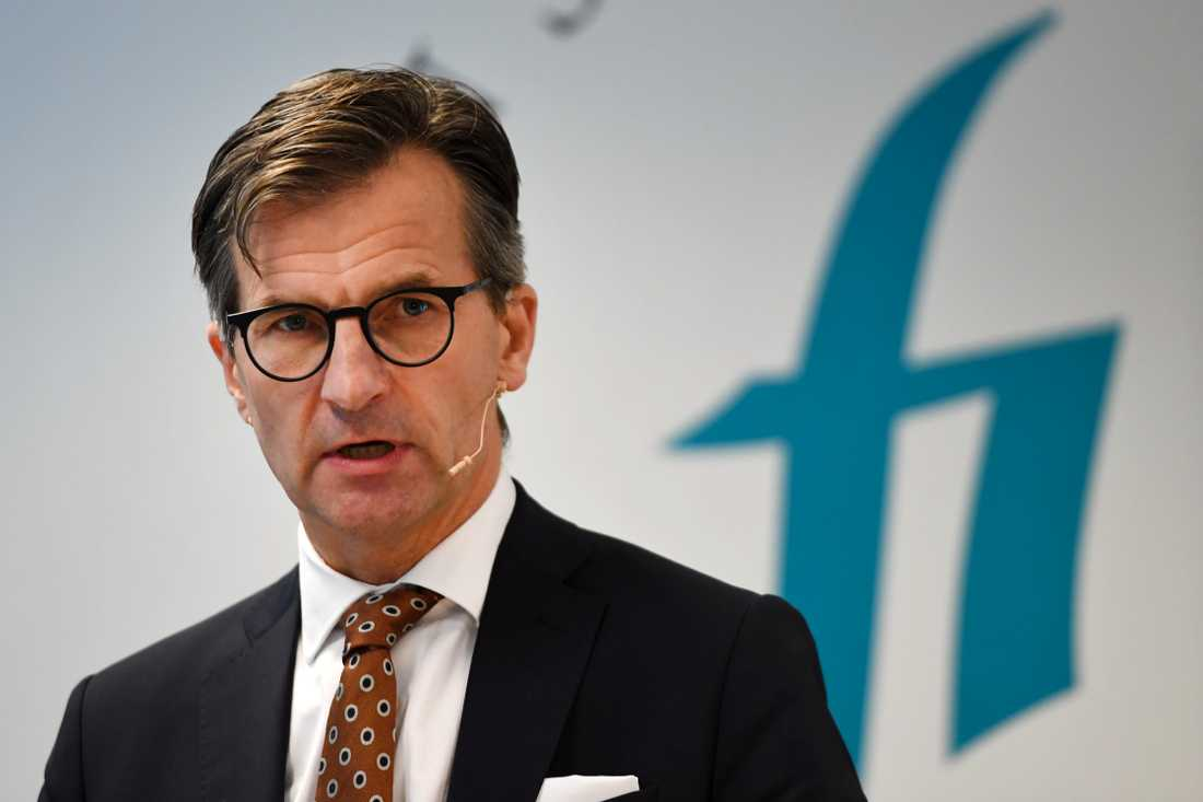 Finansinspektionens generaldirektör Erik Thedéen föreslår skärpt amorteringskrav. Arkivbild.
