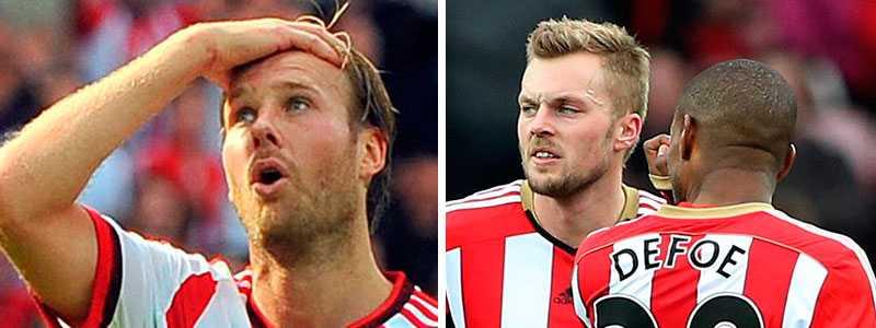 Ola Toivonens och Sebastian Larssons Sunderland.