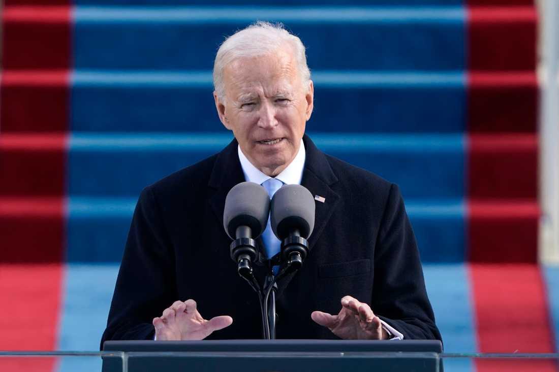 USA:s nye president Joe Biden.