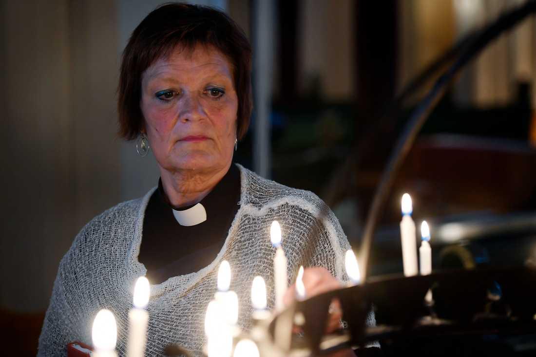 Prästen Ingrid Holmström Pavval.