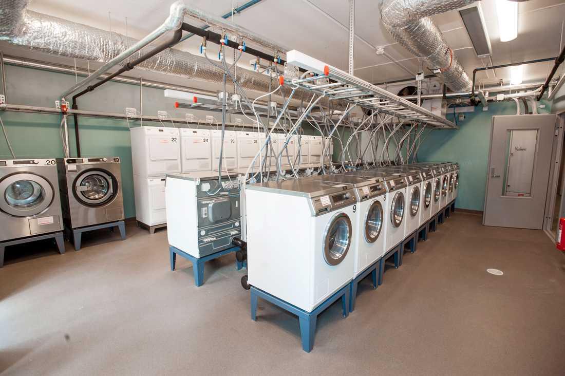 Tvättstugan på bilden har ingen koppling till artikeln. Arkivbild.