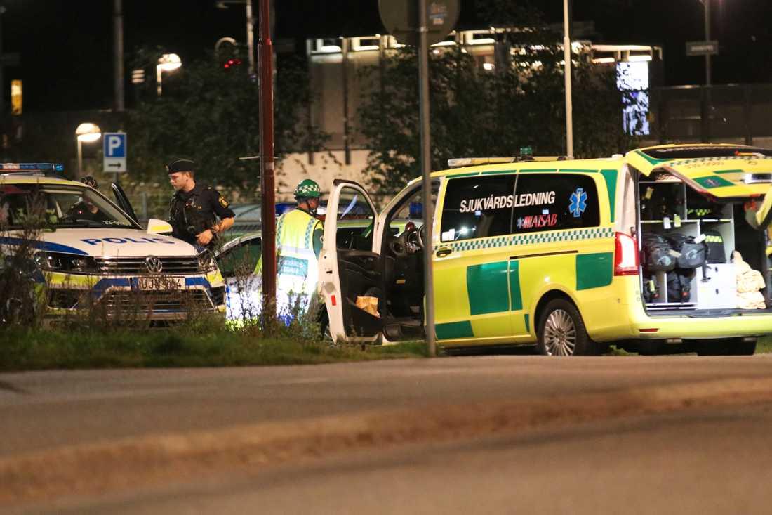 Polisen misstänker mord i Ulvsunda.