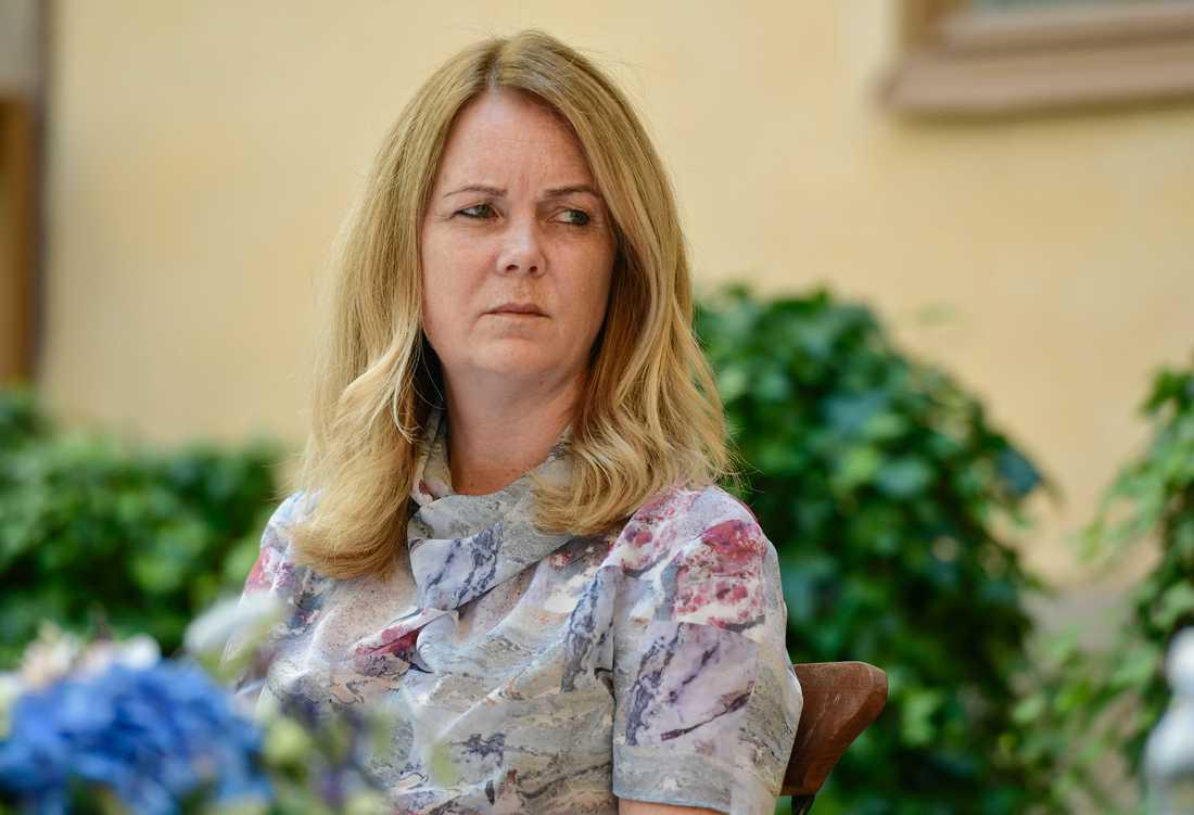 Landsbygdsminister Jennie Nilsson (S) anser att det finns bra rutiner i Sverige för att kunna hantera utbrott. Arkivbild.