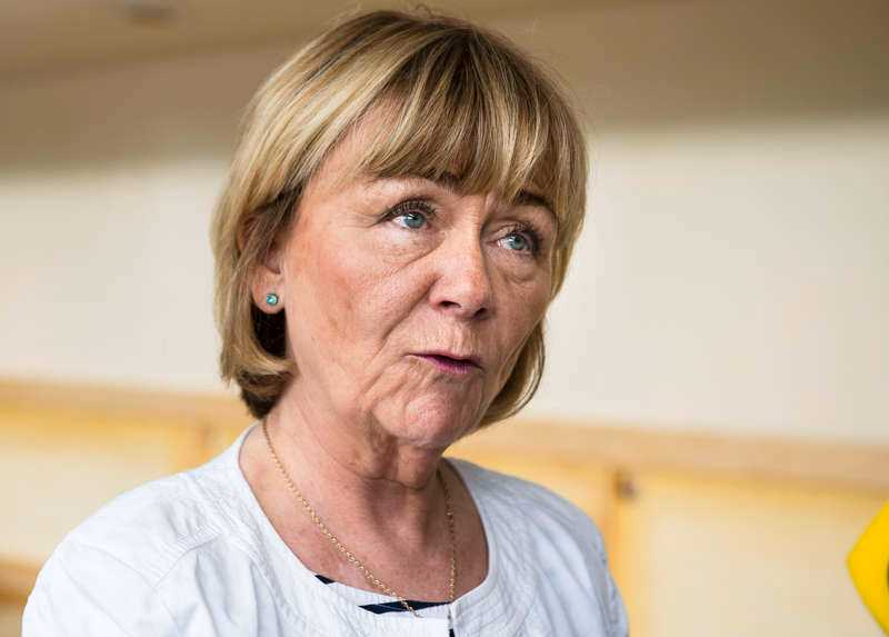 Beatrice Ask (M) var tidigare justitieminister.