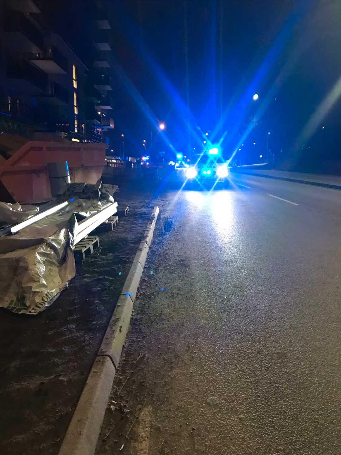Explosionen i Sollentuna inträffade 01.18.
