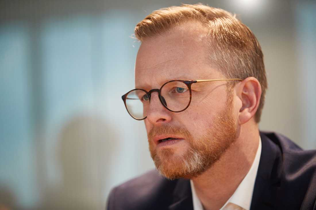 Inrikesminister Mikael Damberg. Arkivbild.