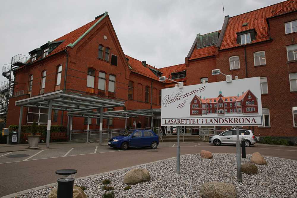 Sjukhuset i Landskrona.