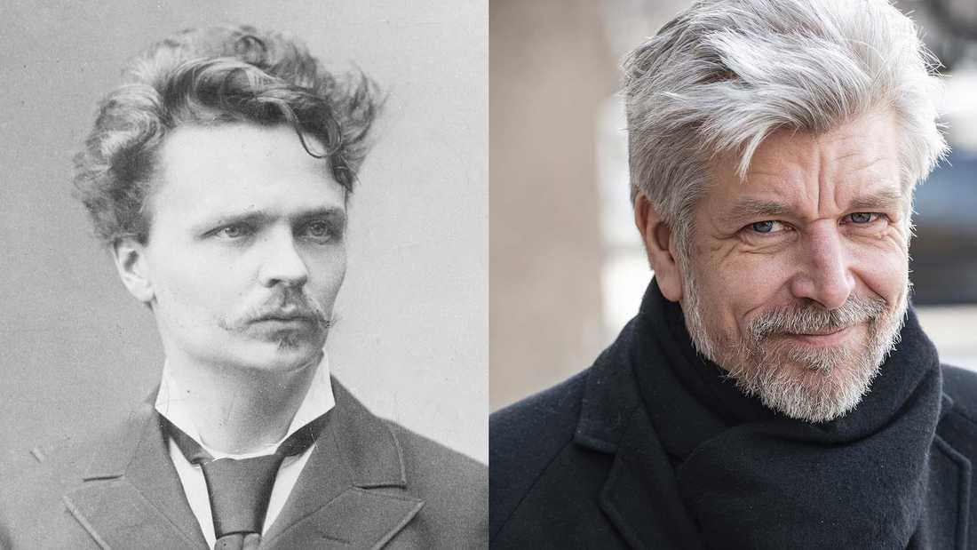 """I Karl Ove Knausgårds nya roman """"Morgonstjärnan"""" finns många esoteriska spår, och även om August Strindberg knappt nämns, har de två författarna mycket gemensamt, skriver Magnus Ringgren."""