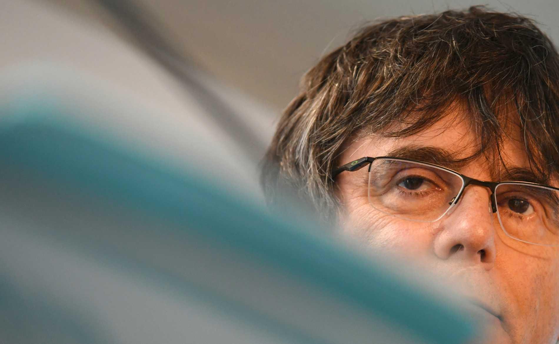 Carles Puigdemont får ställa upp i EU-valet slår domstolen fast. Arkivbild.