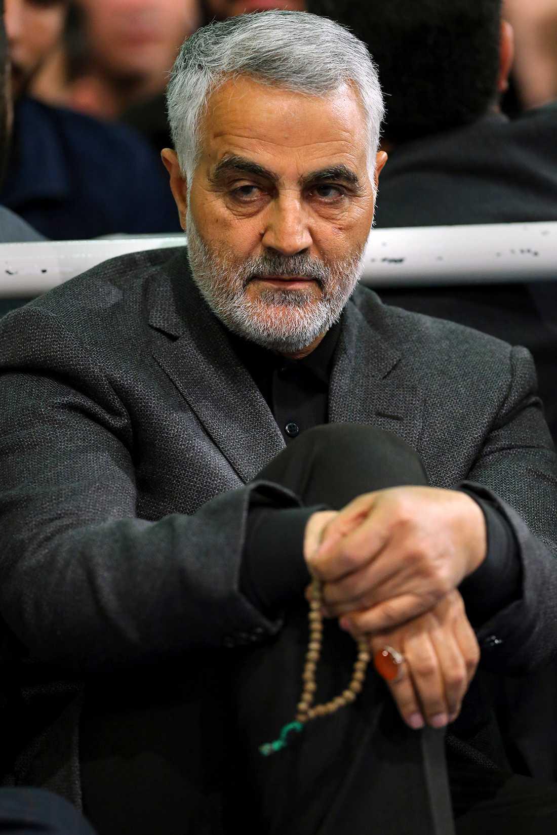 Qassem Soleimani dödades i Bagdad.