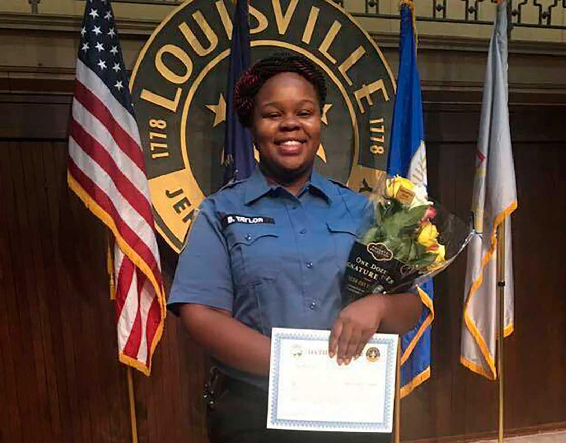 Breonna Taylor blev 26 år. Hon sköts till döds av poliser i sitt eget hem.