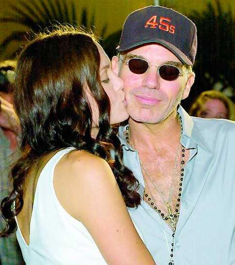Billy Bob Thornton tillsammans med Angelina Jolie.