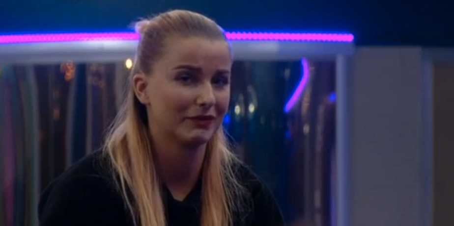 """Linnea bröt ihop när hon berättade att hon lämnar """"Big brother""""."""