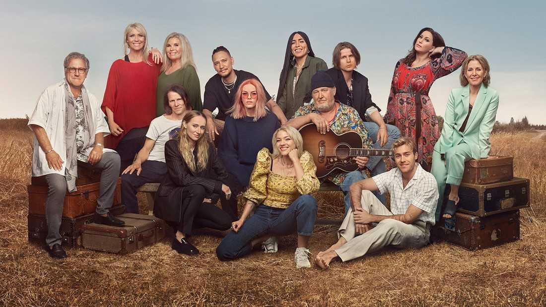 """Artisterna i """"Så mycket bättre"""" i TV4 2020."""
