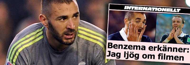 Karim Benzema har hamnat i blåsväder igen.
