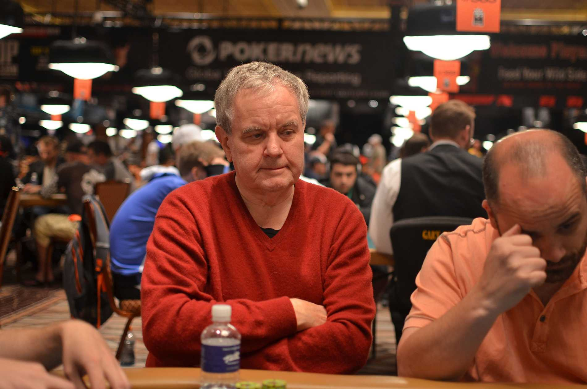 Christer Björin hoppas vinna nya pengar i WSOP:s main event.