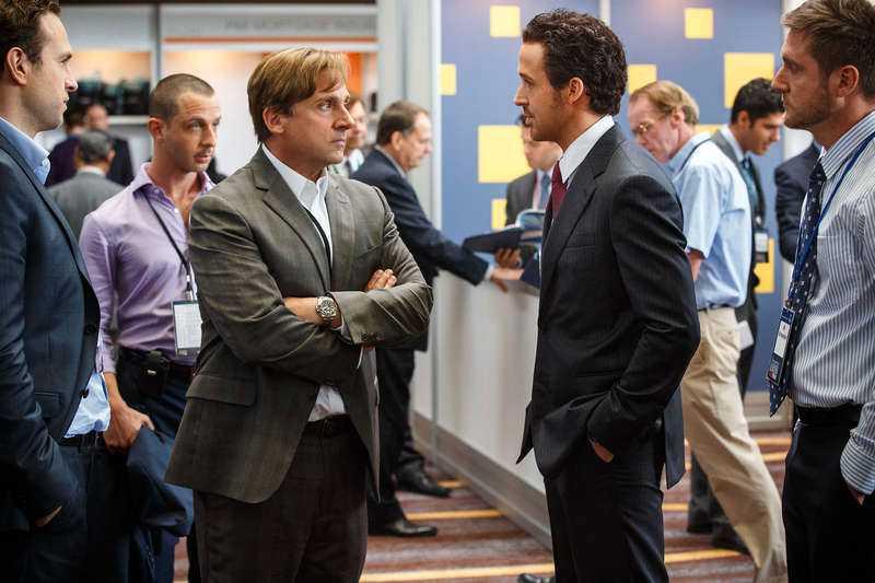 """sevärda  Steve Carell och Ryan Gosling är två av många skickliga skådespelare i """"The big short"""". Foto"""