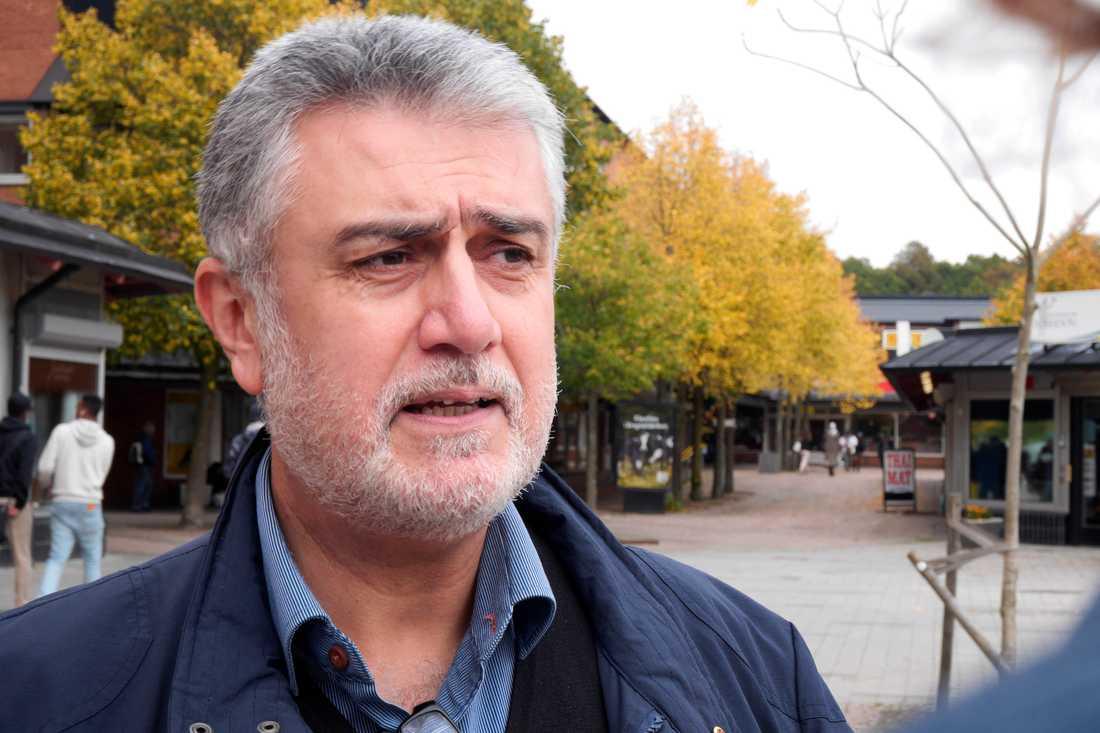 Stadsdelsnämndens ordförande Ali Moeeni.