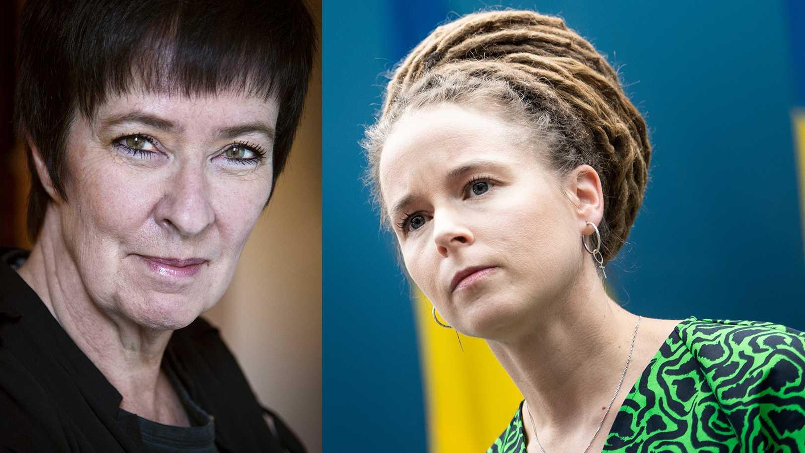 Mona Sahlin var samordnare mot våldsbejakande extremism, som skapade en stigmatisering av vänstern. Ny forskning visar att det har skadat demokratin.  Amanda Lind måste reparera skadan, menar Petter Larsson.