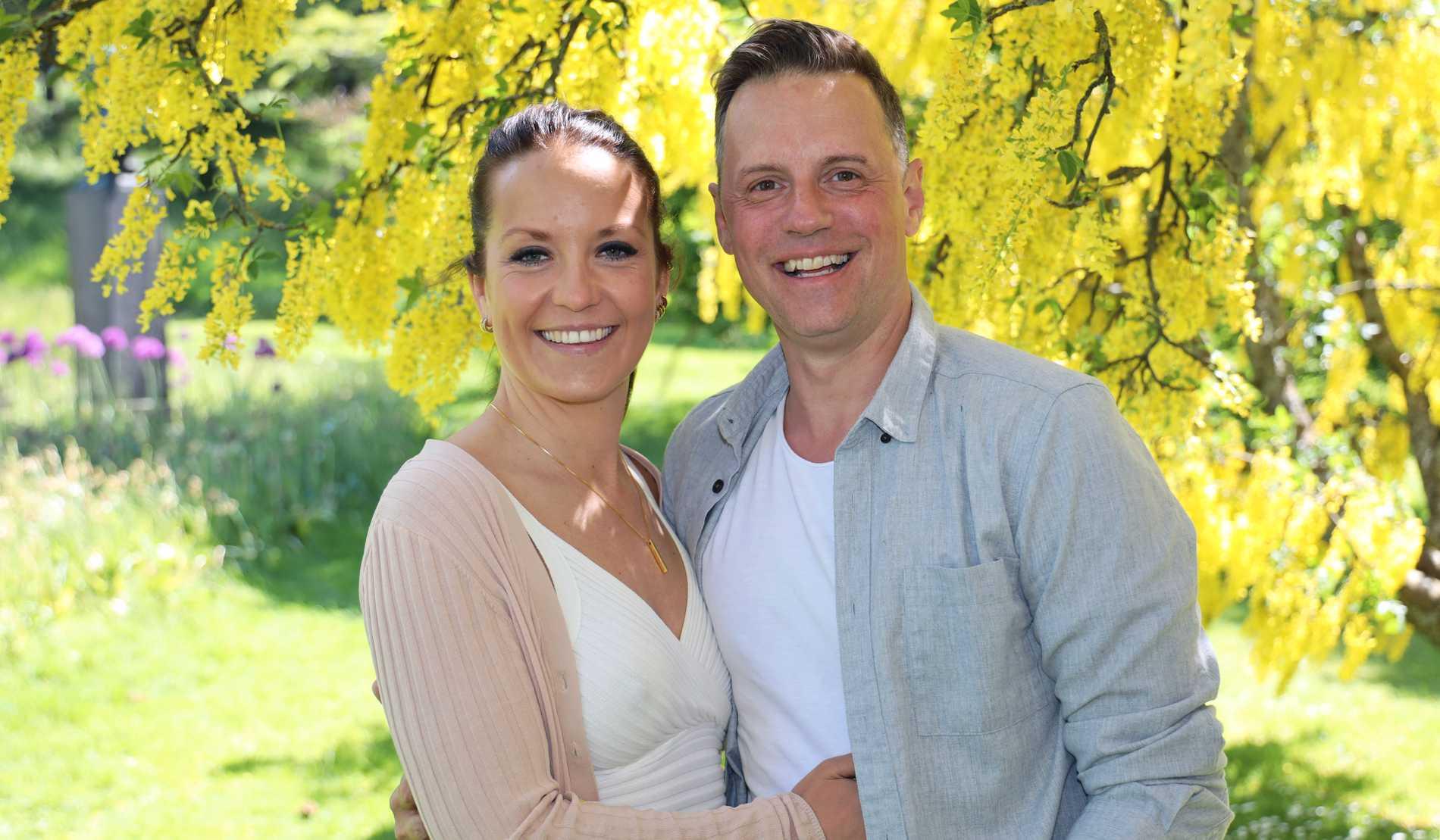 Stefan Odelberg och Petra Johansson.
