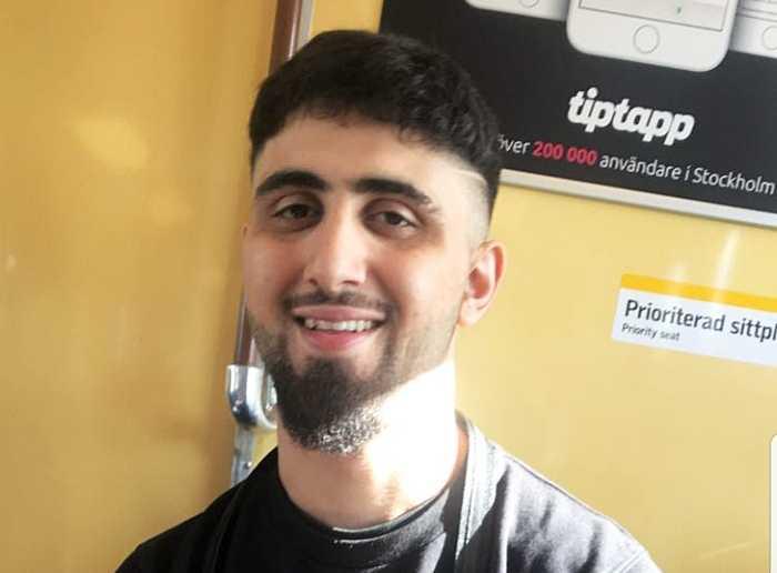 Rozh Shamal, 23, sköts ihjäl utanför sin port på söndagskvällen. Nu sörjs han av familj, vänner och kollegor.