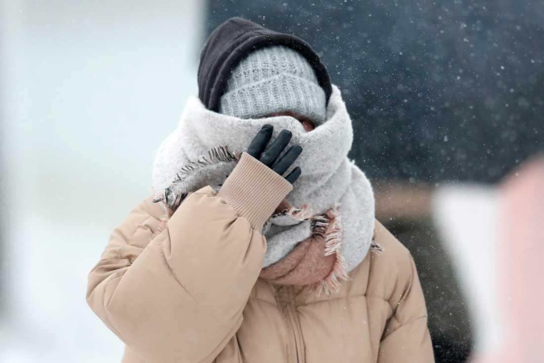 Det blir mycket snö i Norrbottens inland i helgen. Men boende i södra delarna av Sverige får vänta på vintern, enligt SMHI. Arkivbild.