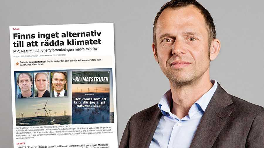 Det är inte trovärdigt när MP kritisera de som sätter industrins intressen framför klimatet, samtidigt som de egna partikamraterna på regeringsnivå gör just det och därmed försvagar Sveriges och hela EU:s insatser för ökad hållbarhet. Replik från Jens Holm.