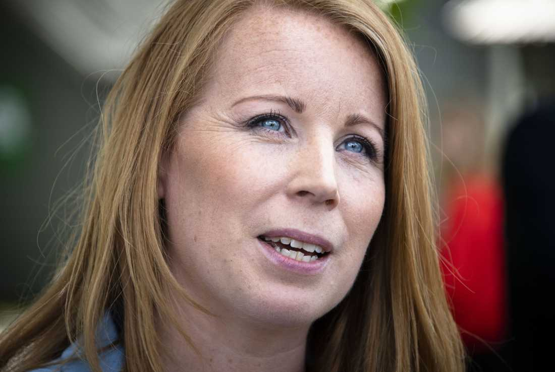 Annie Lööf (C) deltar inte i paraden på Stockholm pride i år,