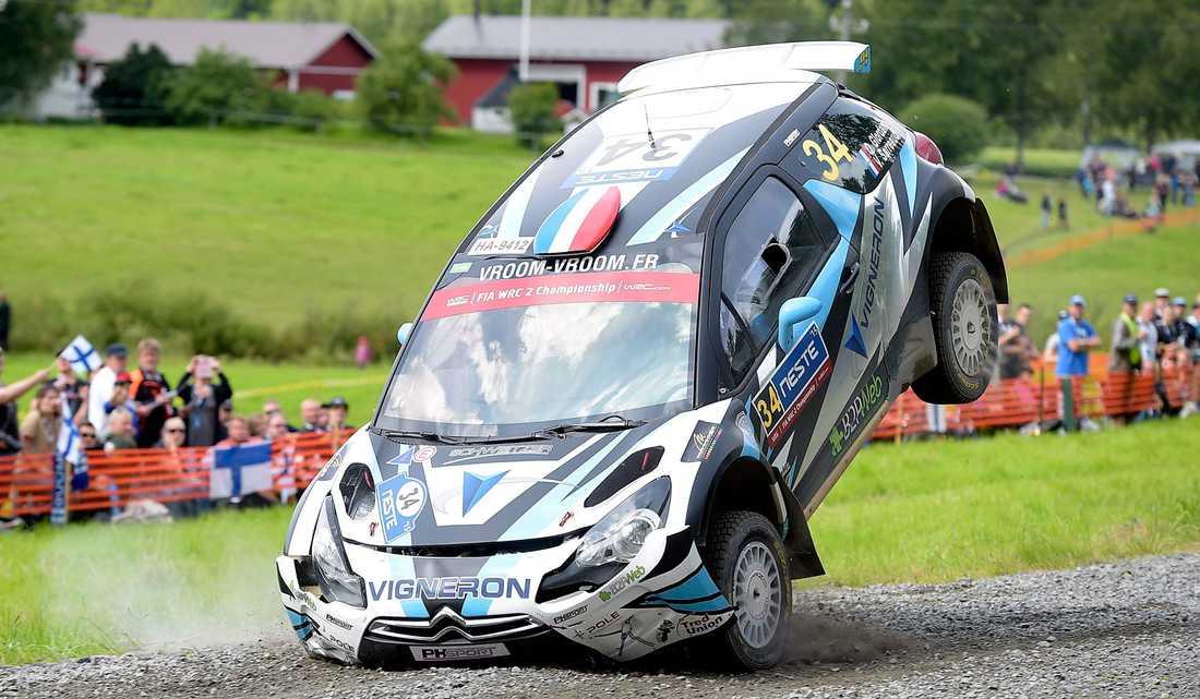I dag är det dags för rally-VM:s tuffaste utmaning: Ouninpohja. Att det är svårt fick inte minst franske föraren Quentin Giordano erfara under fjolårets lopp.