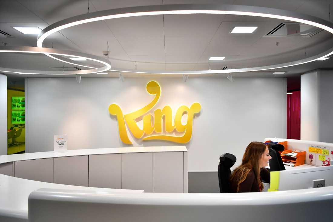 """Spelföretaget """"King"""" som gör """"Candy Crush"""""""