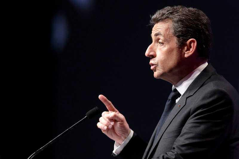 Nicolas Sarkozy, president.Foto