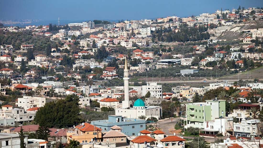 Vy över centrala Tel Aviv.
