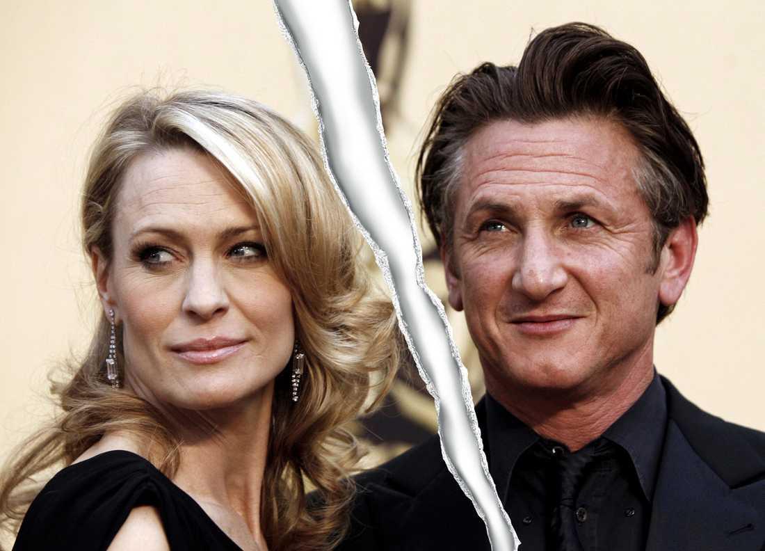 Robin Wright Penn och Sean Penn är nu officiellt skilda.