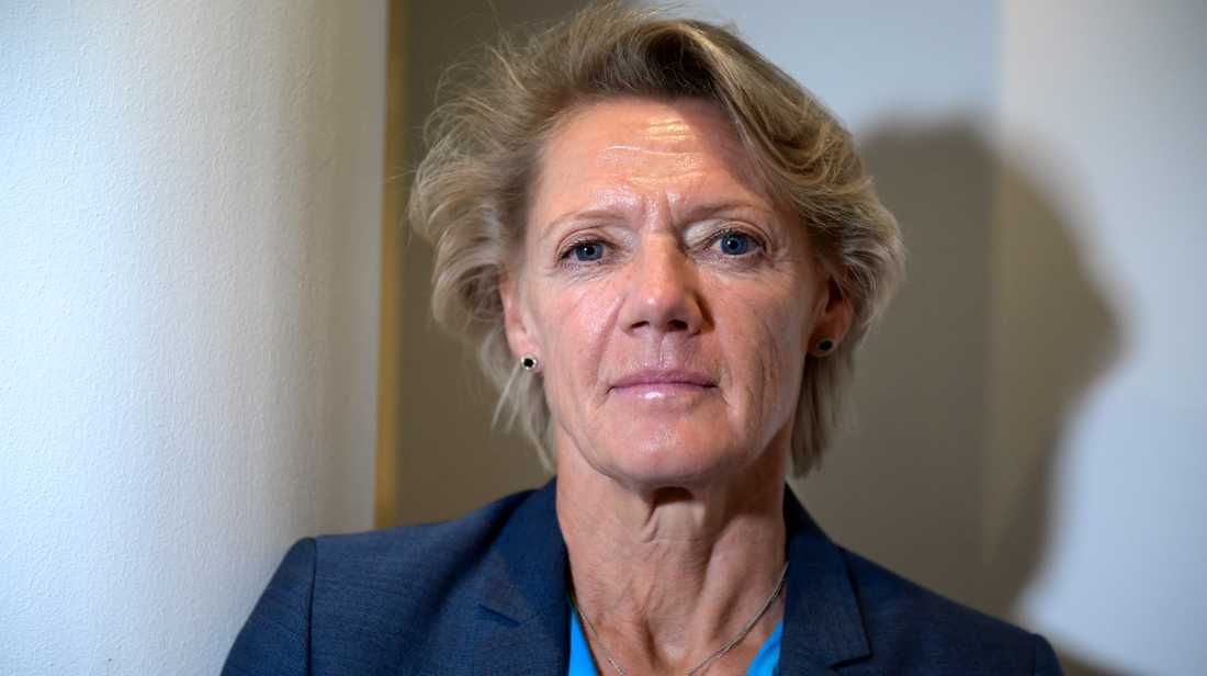 """Varje litet krav som kan minska skolbolagens avkastning får vd:n för Friskolornas riksförbund, Ulla Hamilton, att rycka ut. Det skulle kunna vara en Guillouparodi: """"Hamilton – i vinstdriftens intresse""""."""