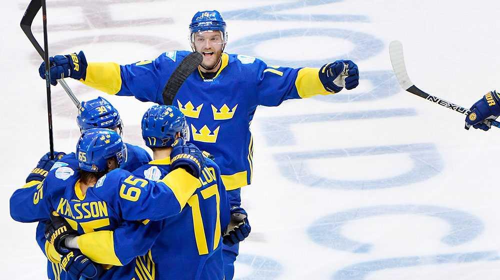 Tre Kronor i World Cup 2016