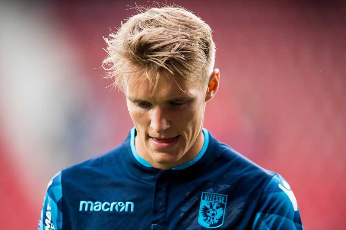 Ödegaard i sin nuvarande klubb, holländska Vitesse.