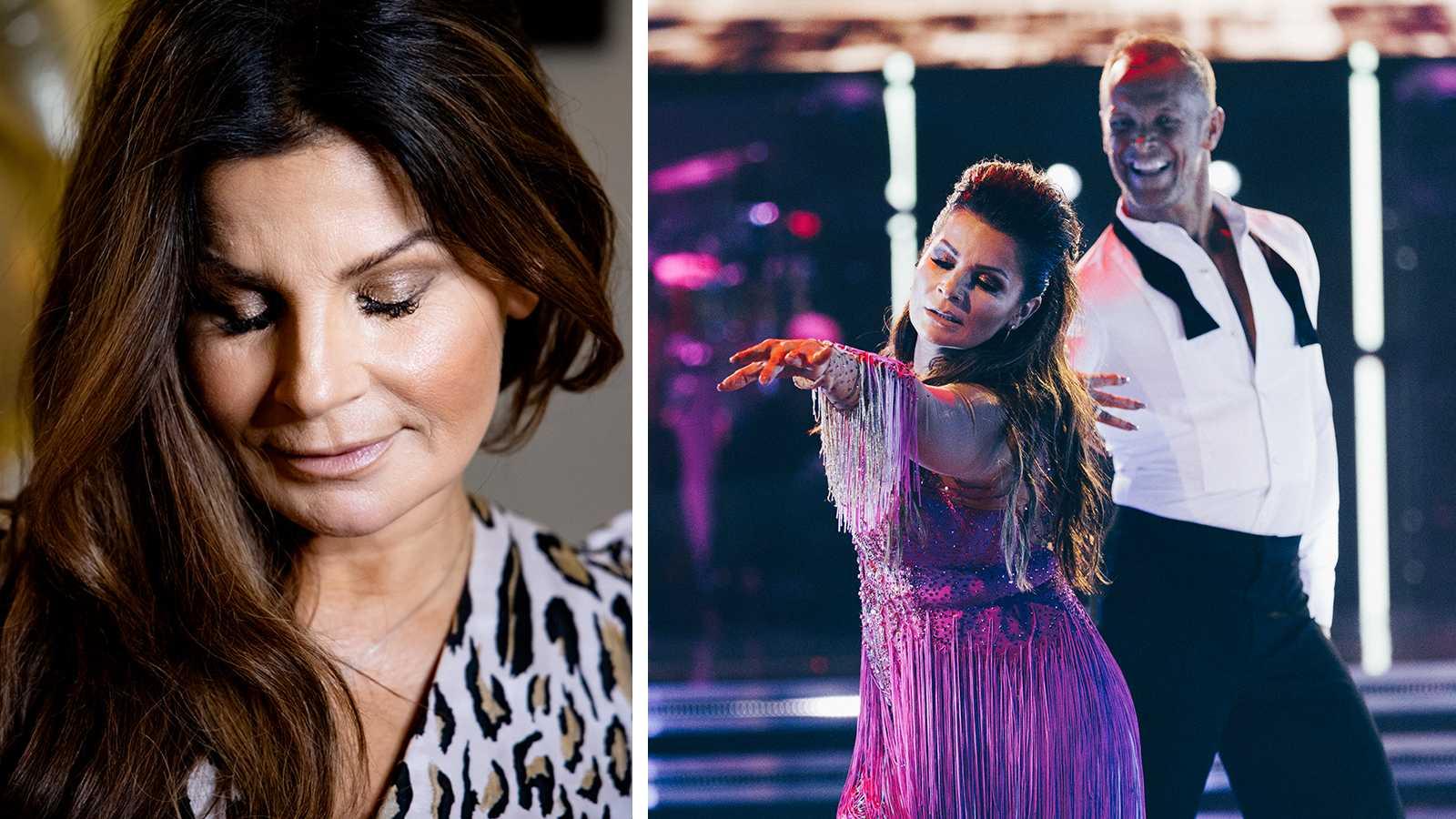"Carola i tårar efter ""Lets dance""-repet"