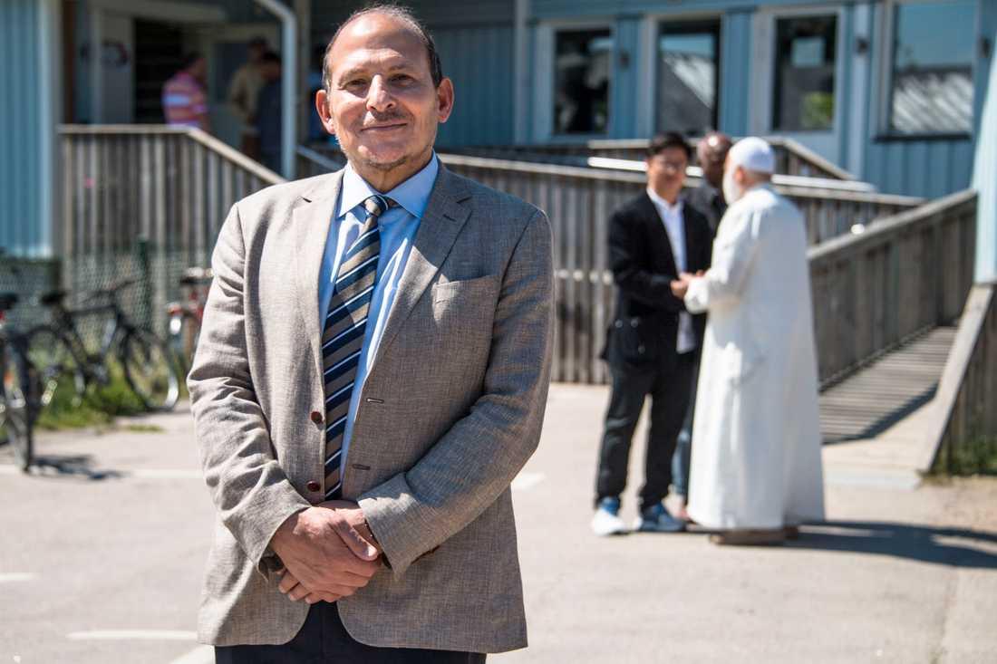 Ismail Abuhelal, ordförande i Stiftelsen Växjö muslimer, är nöjd.