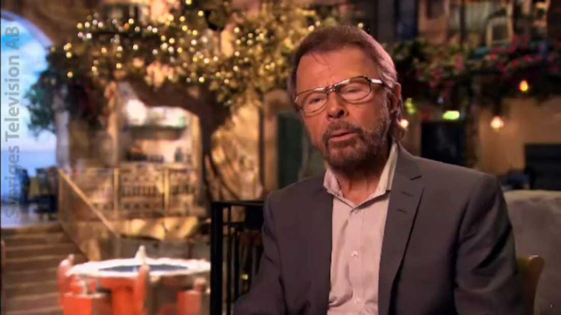 """Björn Ulvaeus i """"Julhyllning till ABBA"""""""