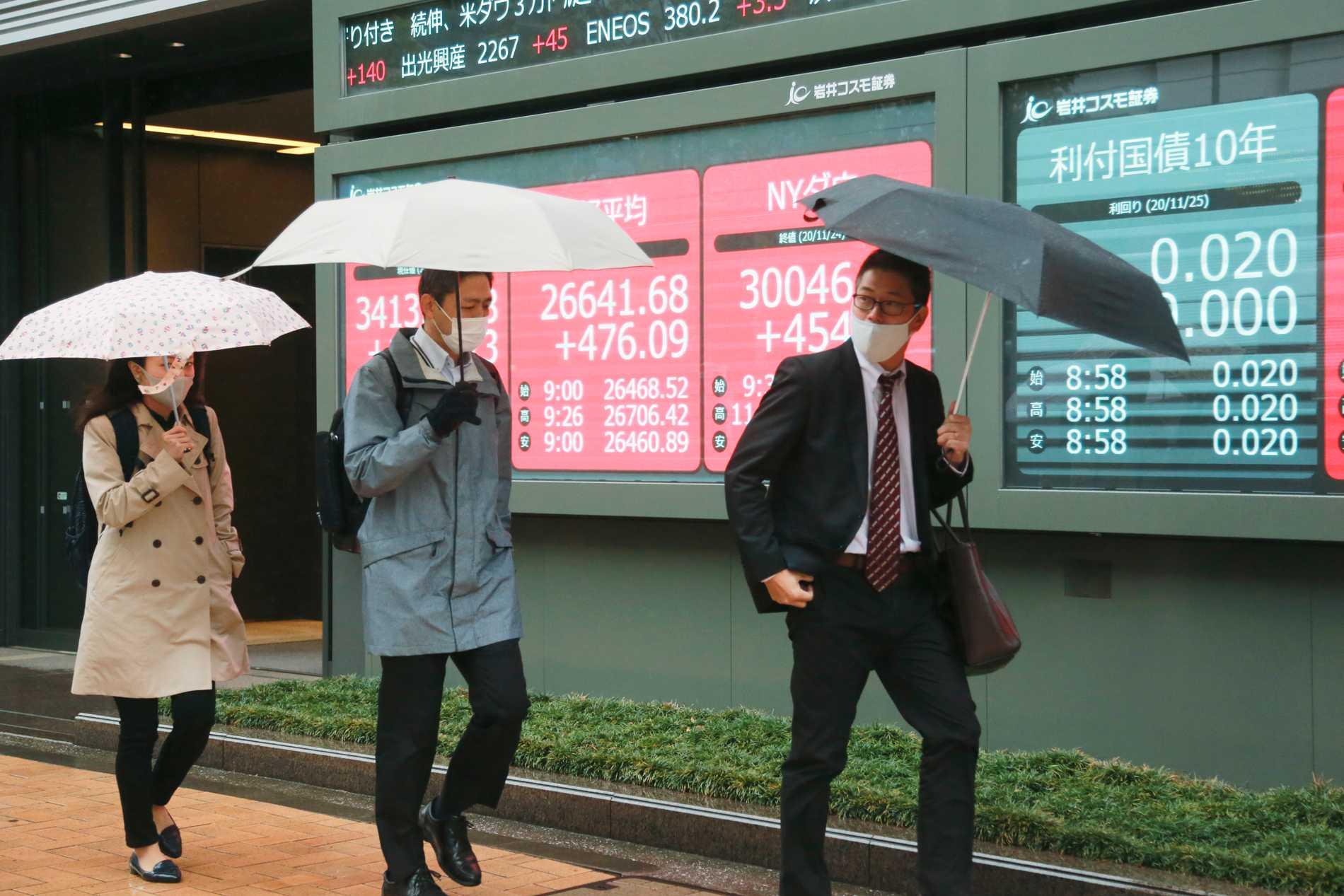 Asienbörser avslutar veckan uppåt