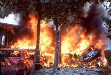 ETA-attack i Madrid i oktober 2000. Tre dog.