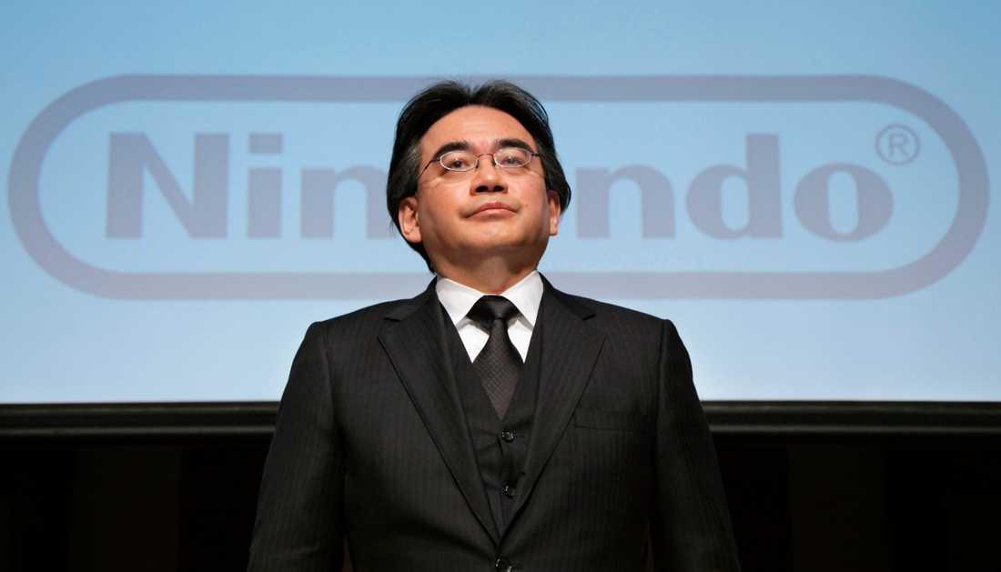 Nintendos vd Satoru Iwata.