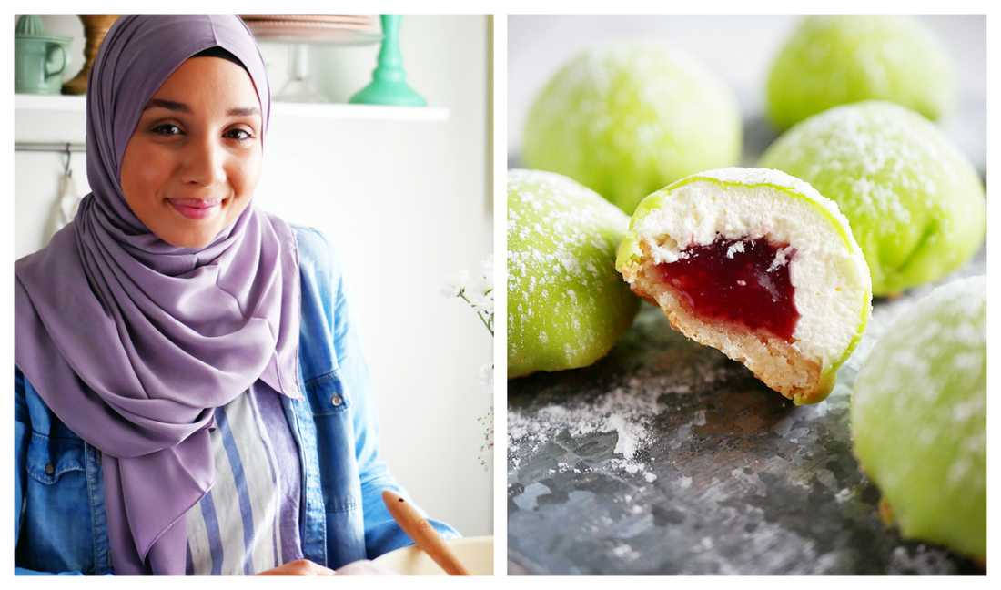 Camilla Hamid på My kitchen stories bjuder på söta prinsessbiskvier.