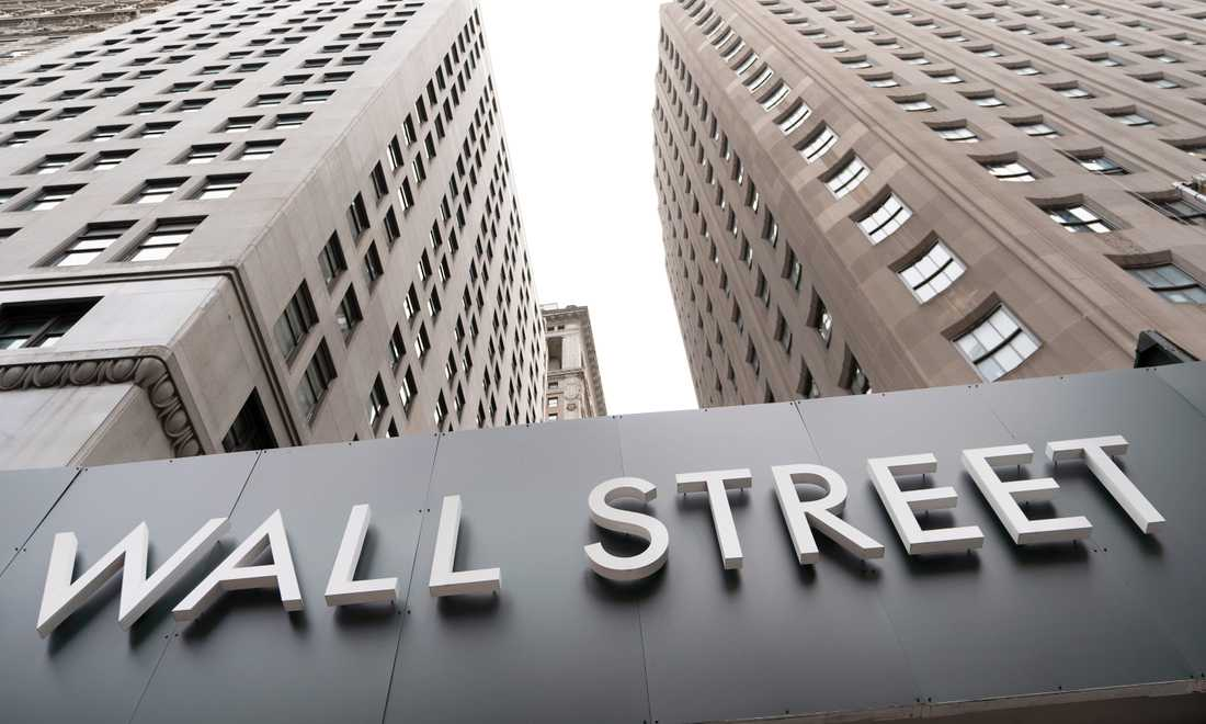 USA-börserna backade på torsdagen. Arkivbild.