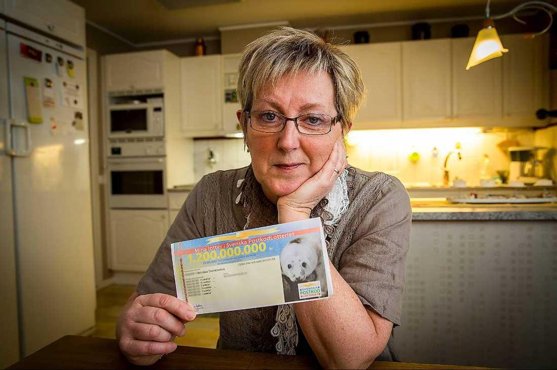 postkodlotteriet rätta din lott