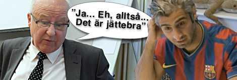 Lars-Åke Lagrell och den falske Zlatan – Ehsan Dadiar.