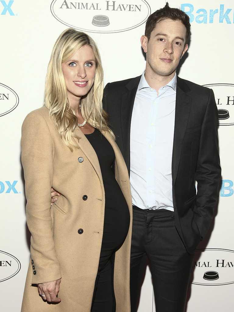 Nicky Hilton med maken James Rothschild