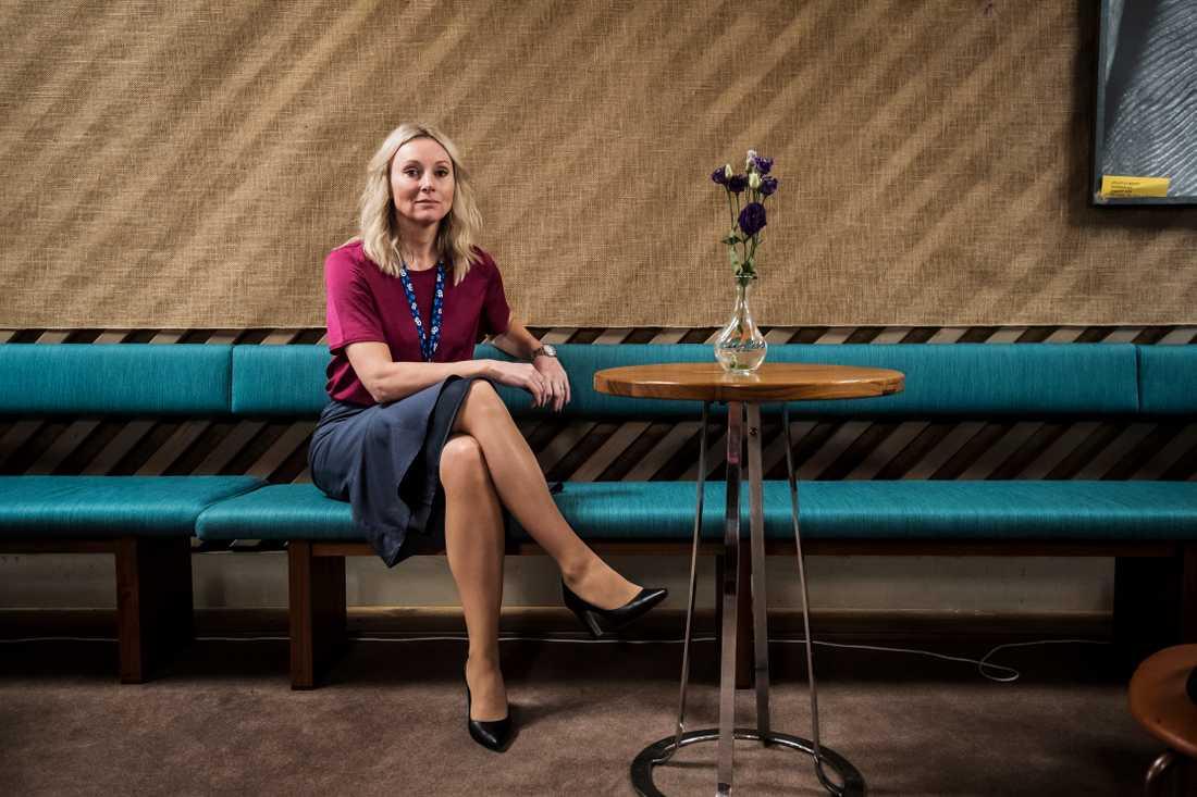 EU-parlamentarikern Jessica Stegrud (SD)