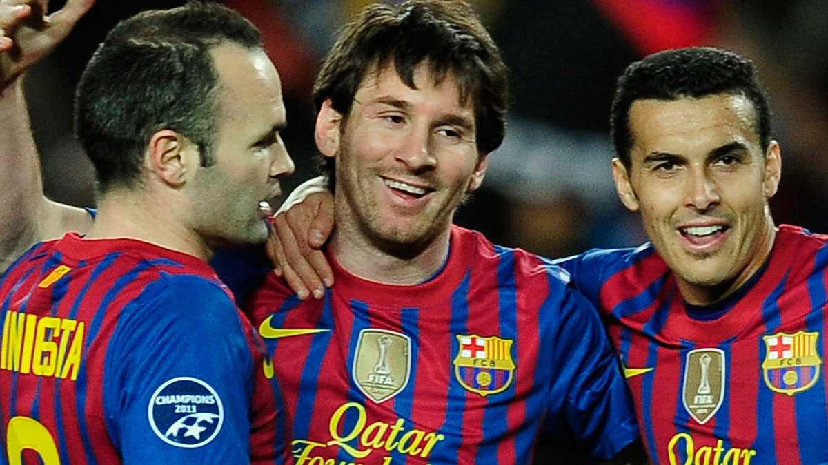 Messi och de andra spelarna i Barcelona möter PSG 4 augusti.